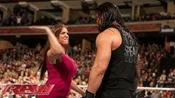 Stephanie McMahon, Roman Reigns'e Ateş Püskürüyor!: Raw, December 14, 2015