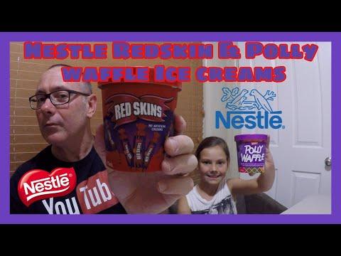 Nestle Redskins & Pollywaffle Icecreams!!!