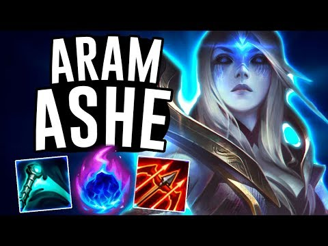 METEOR ASHE ON ARAM DOES SO MUCH DAMAGE!! - Ashe ARAM - League Of Legends