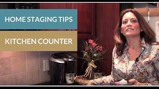 Home Staging Tips: Kitchen Counters