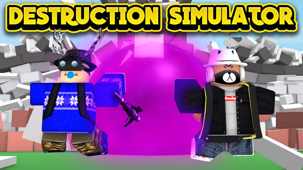 BUYING THE BLACK HOLE GUN! (ROBLOX Destruction Simulator ...