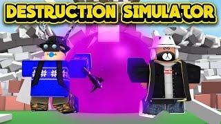 BUYING THE BLACK HOLE GUN! (ROBLOX Destruction Simulator)