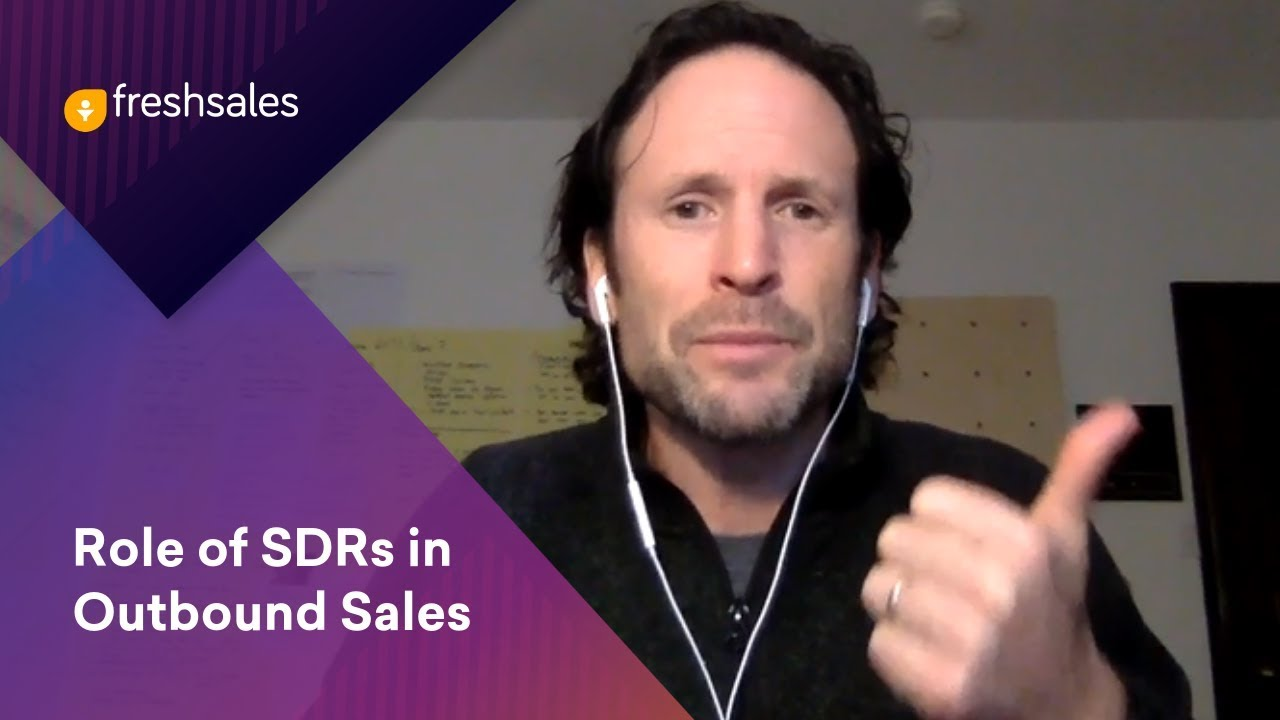The Role of SDRs in Outbound Sales - Aaron Ross | Predictable Revenue