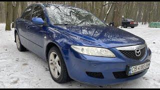 Обзор Mazda 6 2002 2.0 бензин автомат | Пацанская тачка до 6000$