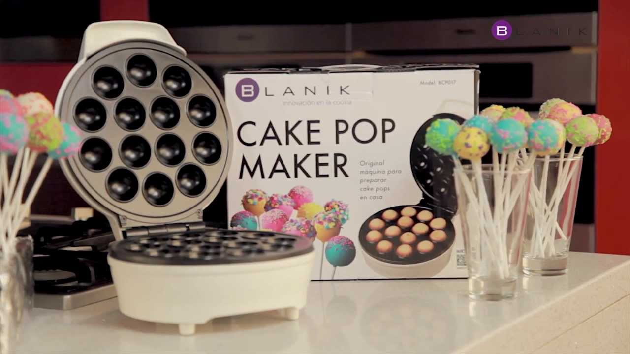 cake pop maker blanik video corto youtube. Black Bedroom Furniture Sets. Home Design Ideas