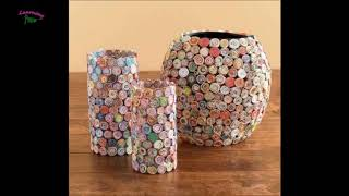 MORE THAN 20 ideas to REUSE or recycle NEWSPAPER | Learning Process
