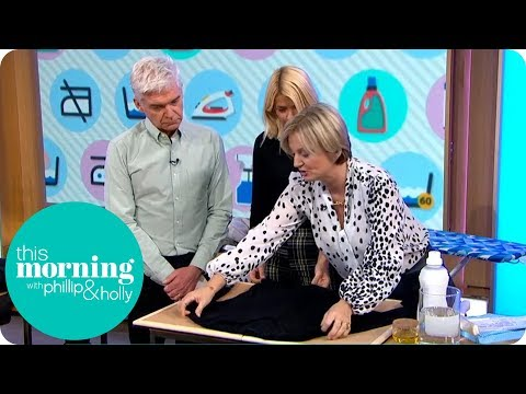 Alice Beer's DIY Dry Cleaning Tips | This Morning