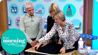 Alice Beer's DIY Dry Cleaning Tips   This Morning