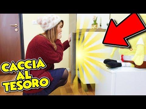 LA CACCIA DEL TESORO SEGRETA!! *INCREDIBILE*