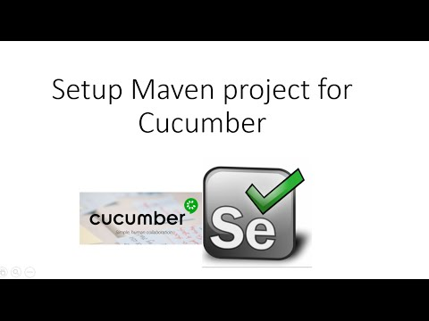 Setup Maven project for Cucumber and Selenium