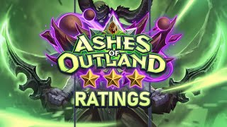 Trump's Ashes of Outland ⭐ Ratings: Demon Hunter | Hearthstone