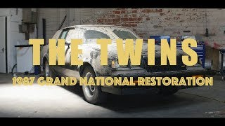 """TEASER """"The Twins"""" 1987 Buick Grand National Restoration"""