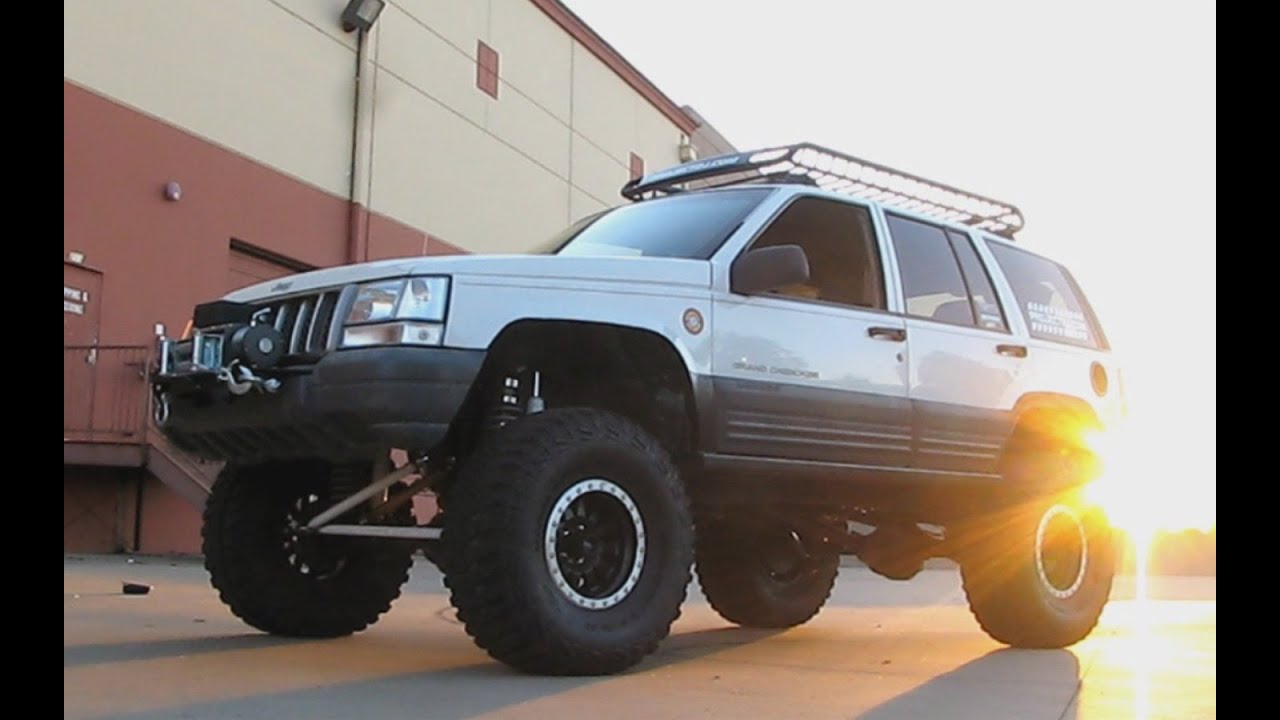 Jeep Grand Cherokee 4x4 Project Zj Part 45 Ruff Stuff Specialties Otk Y Link Steering Track Bar