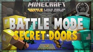 Minecraft Xbox One: BATTLE MODE Secret Doors - Tips/Tricks