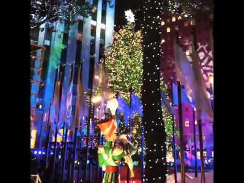 Rockefeller Center Christmas Tree Lighting Ceremony 2015 ...