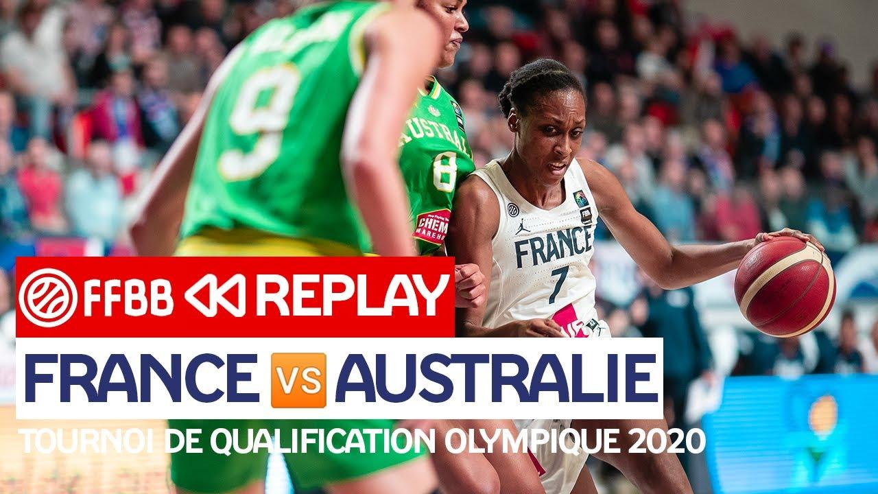 Download [MATCH COMPLET] France-Australie / TQO Féminin 2020