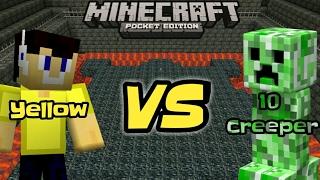 Download Mp3 Minecraft-yellow Vs 10 Creeper#hampir Mati