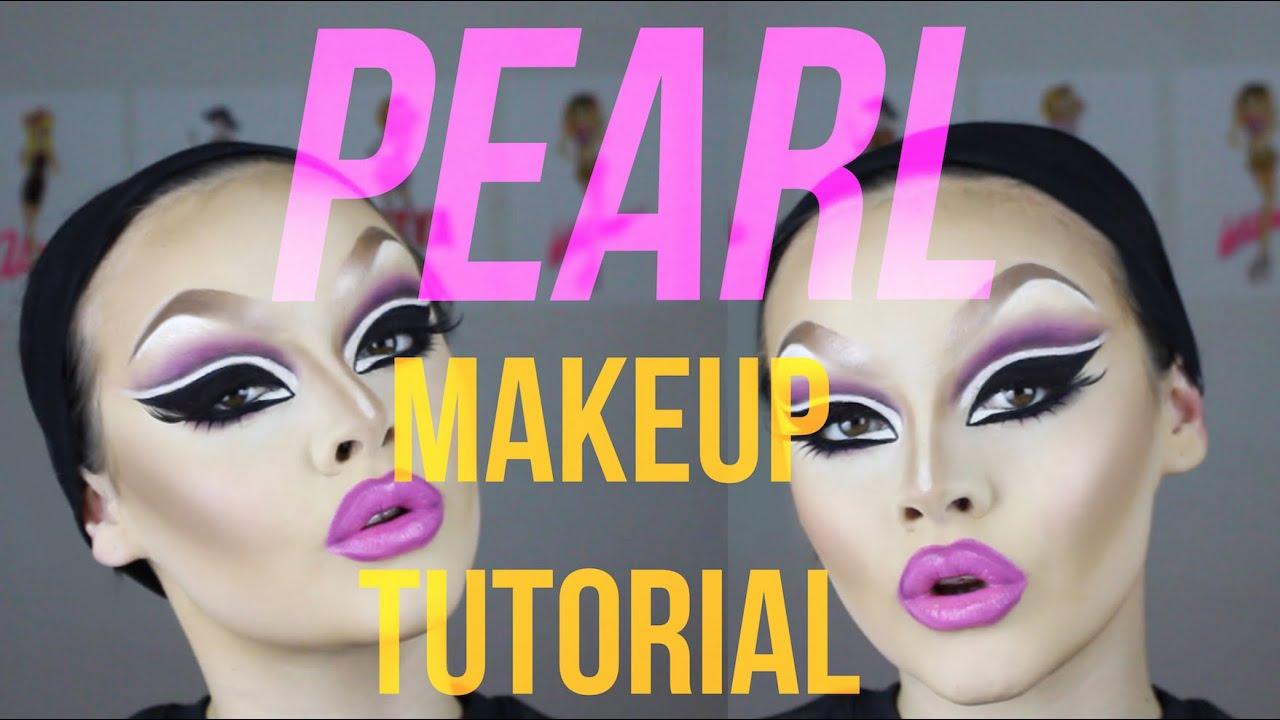Pearl drag makeup tutorial youtube drag makeup tutorial youtube baditri Images