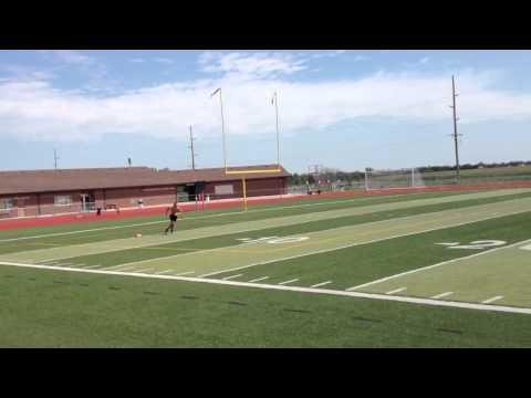 300 Yard Sprint Test (50yd increments)