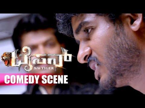 Chikkanna Kannada Comedy with Vinod Prabhakar | Kannada Comedy Scenes | Tyson Kannada Movie