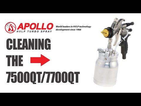 7500QT/7700QT Spray Gun Cleaning Video
