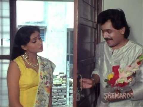 Dokyala Taap Nahi - Part 3 Of 13 - Laxmikant Berde - Varsha Usgaonkar - Superhit Marathi Movie