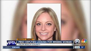 Missing woman last seen at Lake Worth gas station