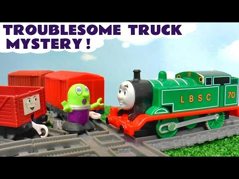 MYSTERY Thomas The Tank Engine Troublesome Trucks Toy Train Story