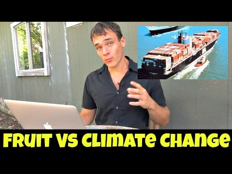How Imported Fruit Affects Climate Change