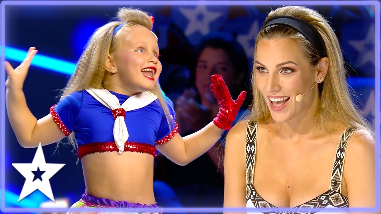 Little Dancer Owns The Stage In Front of Judges! | Kids Got Talent