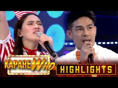 Jackque Gonzaga and Ion Perez go head-to-head in a rap battle | It's Showtime KapareWho