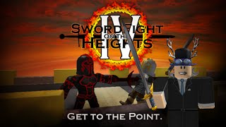 Roblox Gameplay Commento - spada lotta sulle alture IV!