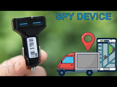 Real Time Spy  CAR GPS Tracker Car   USB Charger Style   Spy Audio Recorder