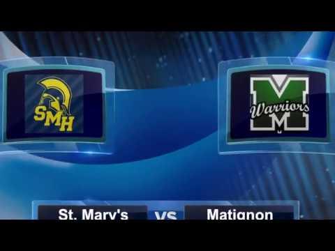 SMHS Boy's Hockey vs  Matignon High School December 12, 2018