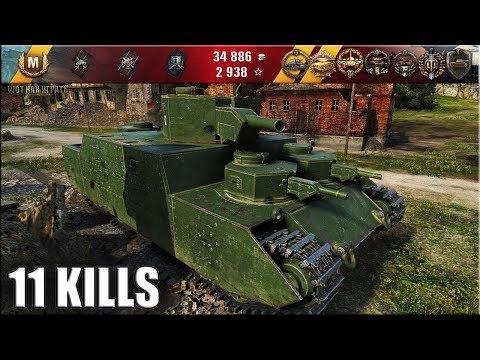 ФУГАСНЫЙ МОНСТР танк O-I ? 11 фрагов ? World of Tanks лучший бой на тт 6 уровень Япония thumbnail