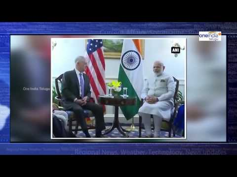 Modi met US Secretary of Defence Jim Mattis in Washington D.C.   Oneindia Telugu