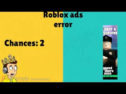Roblox ads error GA 3