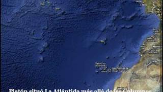 ¿Esta aqui La Atlantida? Curiosidades de Google Earth Maps Is here Atlantis? Free HD Video