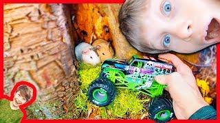 Monster Trucks Guinea Pig Rescue Mission