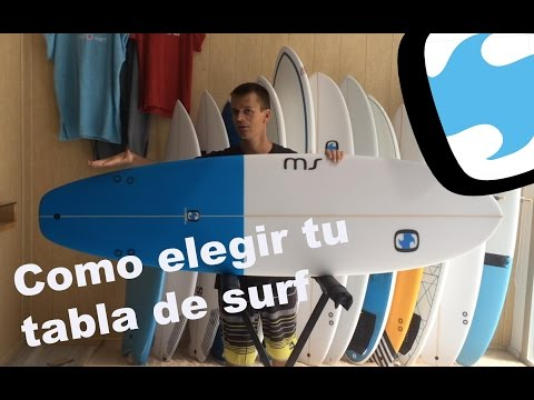 Como Elegir Tu Tabla De Surf
