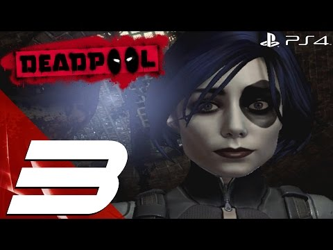 Deadpool PS4 - Gameplay Walkthrough Part 3 - Vertigo & Cable [1080p HD]