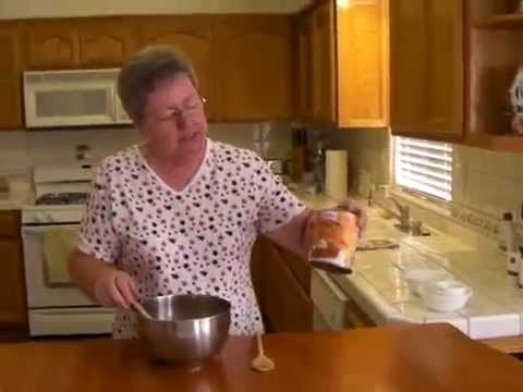 How to make a Pumpkin Roll Part One