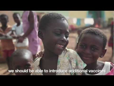 Ghana launches vaccines against two major child killers