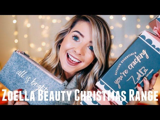 ZOELLA BEAUTY CHRISTMAS RANGE 2017 | SNOWELLA