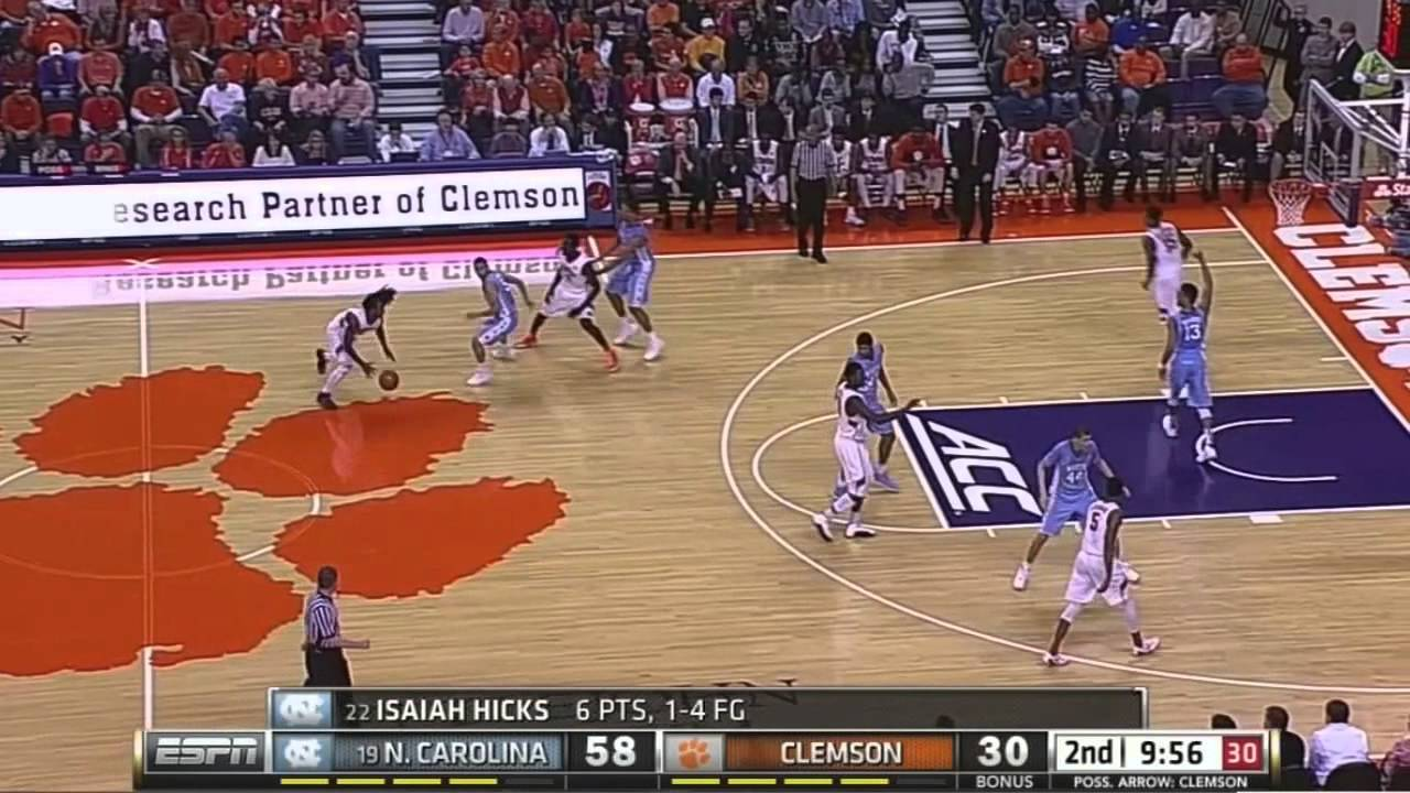 UNC Men's Basketball: Highlights vs. Clemson