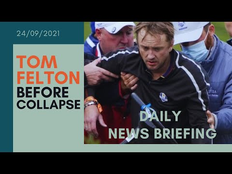 Tom Felton: Harry Potter star collapses during celebrity golf match - UK NEWS BRIEFING
