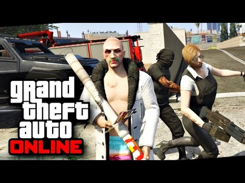 GTA V online #11 - ระเบิดเมืองฉลองเปิดเทอม!! ft.Opztv