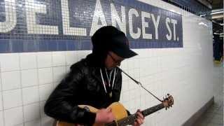 "One Boy Army - ""Bloody Dreamer"", Delancey St., New York City"