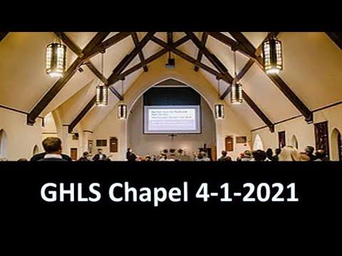 Garden Homes Lutheran School Chapel 4-1-2021