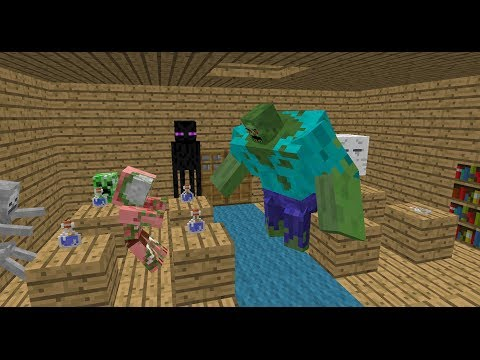 Monster School: Alchemy – Minecraft Animation